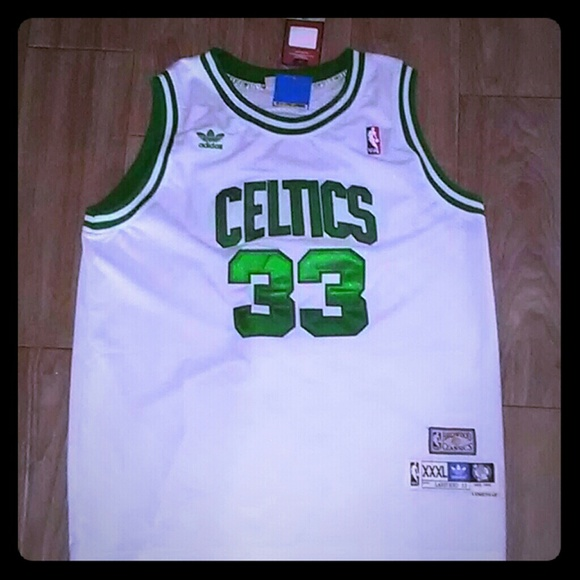 newest 2193e 28f80 Larry Bird Hardwood Classic Authentic Jersey